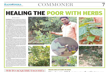 Healing the poor with herbs